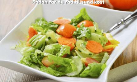 Sådan får du råd til sund kost